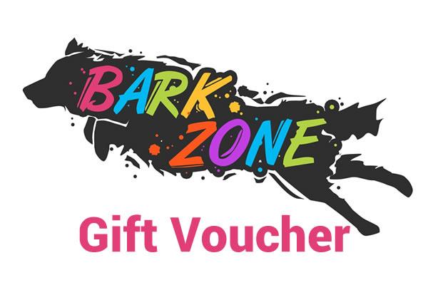 Bark Zone Agility Gift Voucher